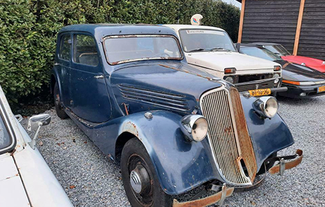 Renault Pre-war Primaquatre 1939