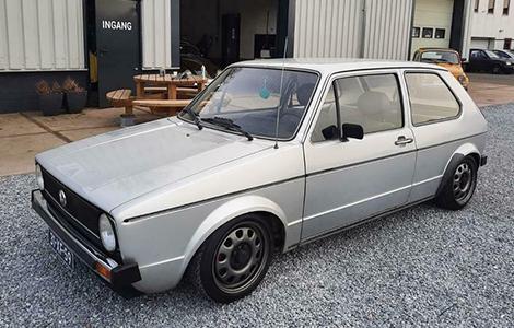Volkswagen Golf MK1 uit 1978 • 31-XF-59