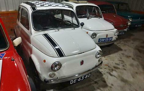 Fiat 500 wit DE-63-80