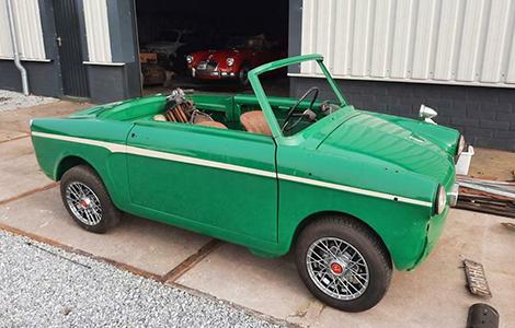 Fiat Autobianchi bianchina cabrio 1965 • 76-11-HK