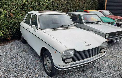 Peugeot 204 uit 1970