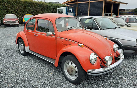VW Kever rood 1976