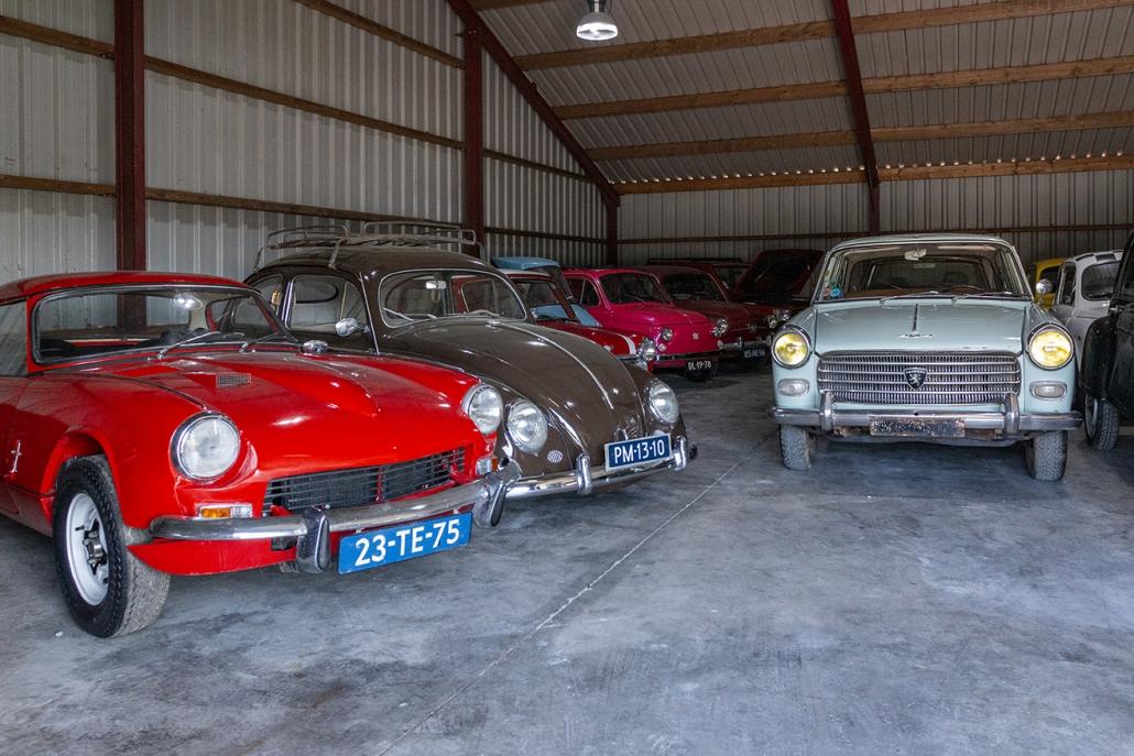 Classic Cars Heerde - kijk binnen