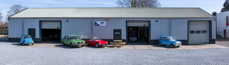 Classic Cars Heerde - pand