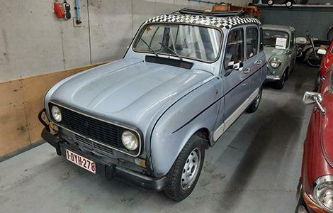 Renault 4 uit 1982 Import Frankrijk
