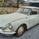 Citroën DS ID 19 uit 1964 creme wit Import Frankrijk