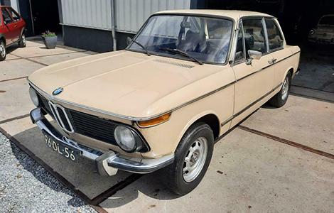 BMW 1602 uit 1974 96-DL-56