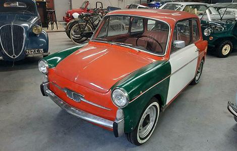 Fiat autobianchi bianchina 110 uit 1968