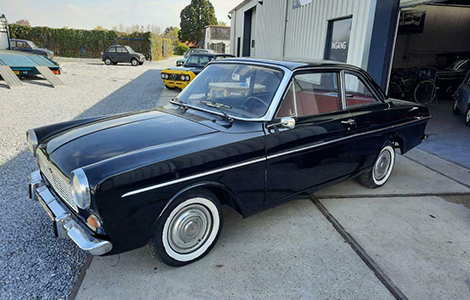 Ford Taunus 12M Coupé uit 1964 GH-94-21