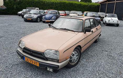 Citroën gsa x3 5 speed 1983 JL-73-XT