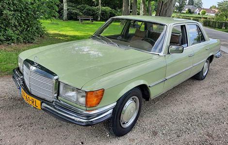 Mercedes 280 se uit 1978 TP-61-RL