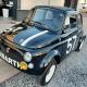 Fiat 500 zwart uit 1971