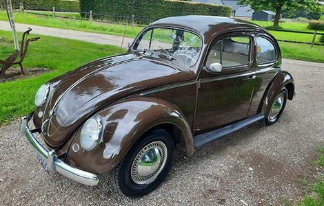 Volkswagen ovaal kever uit 1957