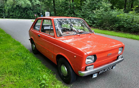 Fiat 133 rood uit 1976 99-JG-20