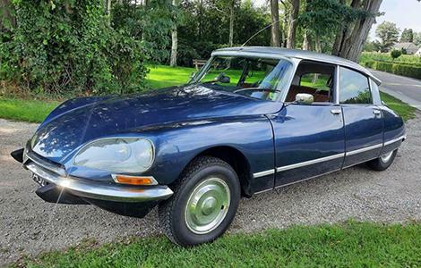 Citroën DS 23 IE Pallas uit 1973