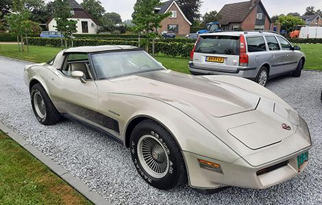 Corvette C3 uit 1982